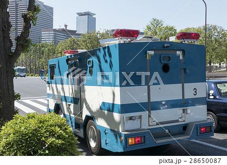 車両 警察 特殊車両 機動隊 防弾 装甲車 警察車両 特型警備車 28650087