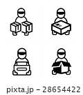 BOX ボックス 箱のイラスト 28654422
