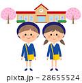 人物 入園式 子供のイラスト 28655524