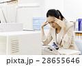 女性 頭痛 疲れの写真 28655646