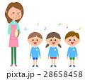 人物 子供 園児のイラスト 28658458