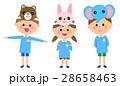 人物 子供 園児のイラスト 28658463