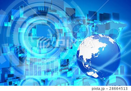 ネットワーク素材 28664513