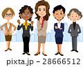 女性 ビジネス チーム 28666512