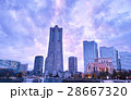 夕景 夕方 横浜の写真 28667320