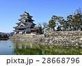 松本 風景 国宝 松本城 28668796
