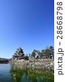 松本 風景 国宝 松本城 28668798