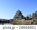 松本 風景 国宝 松本城 28668801