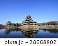 松本 風景 国宝 松本城 28668802