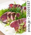 鰹のたたき 鰹 魚料理の写真 28669387