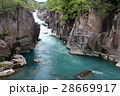厳美渓 川 河川の写真 28669917