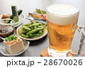 夏の生ビールとおつまみたち 28670026