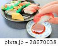 江戸前寿司 手で食べる 28670038