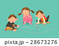 ベクトル キッズ 子供のイラスト 28673276