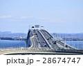 海ほたる 高速道路 アクアラインの写真 28674747