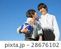 小学生 男の子 笑顔の写真 28676102