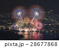 花火 花火大会 打ち上げ花火の写真 28677868
