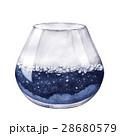 水彩画 空いている 空っぽのイラスト 28680579