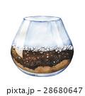 水彩画 空いている 空っぽのイラスト 28680647