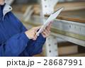 タブレット 運送業 配送センターの写真 28687991