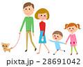 人物 家族 親子のイラスト 28691042