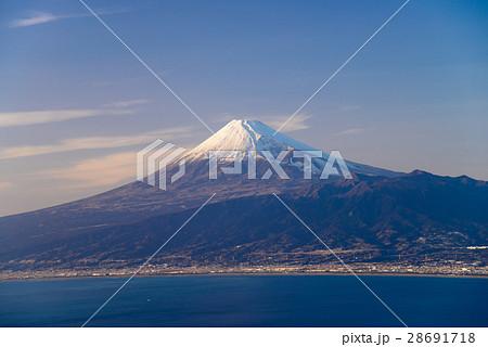 【静岡県】駿河湾越の富士山 28691718