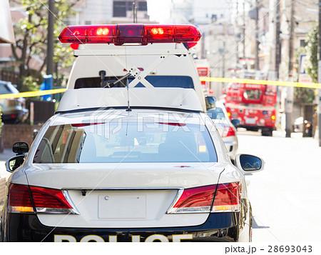 火災現場 消防士 警察官 命令