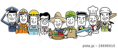 働く人々、職業:集合 28696910