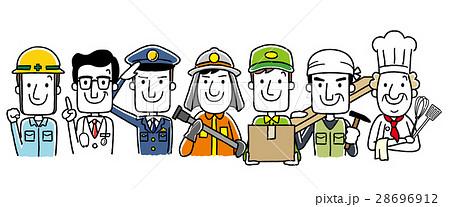 働く人々、職業:集合 28696912