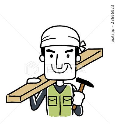 働く人々、職業:大工 28696923
