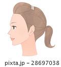 女性の横顔 28697038
