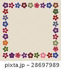 桜 飾り枠 枠のイラスト 28697989