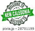 New Caledonia round ribbon seal 28701199