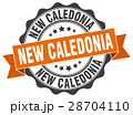 New Caledonia round ribbon seal 28704110