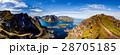 ノルウェー ローフォテン 浮かぶ島の写真 28705185