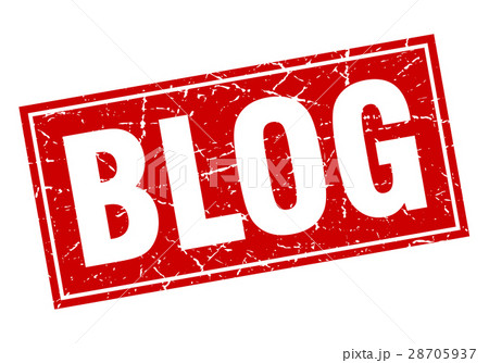 blog square stampのイラスト素材 [28705937] - PIXTA