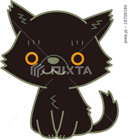 ペルシャ猫 黒 28706580