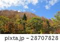 紅葉と山 / The autumn leaves 28707828