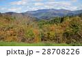 紅葉と山 / The autumn leaves 28708226