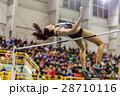 走り高跳び アスリート ジャンプの写真 28710116