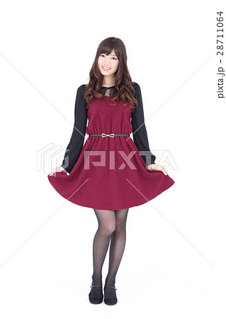 若い女性 ファッション ポートレート 28711064