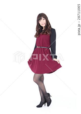 若い女性 ファッション ポートレート 28711065
