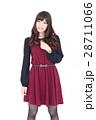 若い女性 ファッション ポートレート 28711066