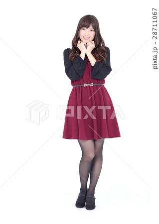若い女性 ファッション ポートレート 28711067