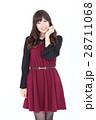 若い女性 ファッション ポートレート 28711068