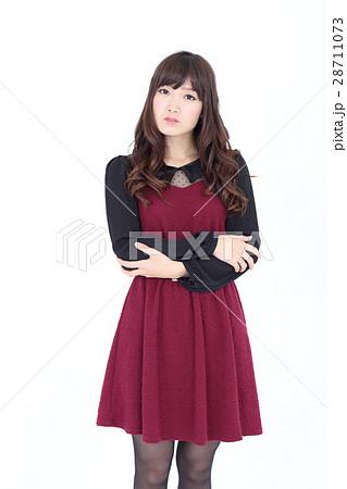 若い女性 ファッション ポートレート 28711073