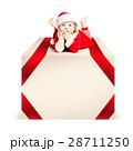 クリスマス サンタ サンタクロースの写真 28711250