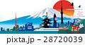 日本 ベクター 白バックのイラスト 28720039