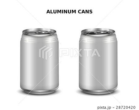 Aluminum cans mockupのイラスト素材 [28720420] - PIXTA