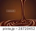 チョコレート クリーミー 食のイラスト 28720452